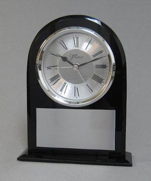 Black Rounded Clock Thumbnail