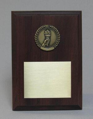 Economy Medal Plaque Thumbnail