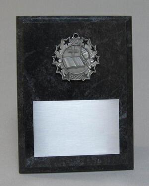 Ten Star Medal Plaque Thumbnail