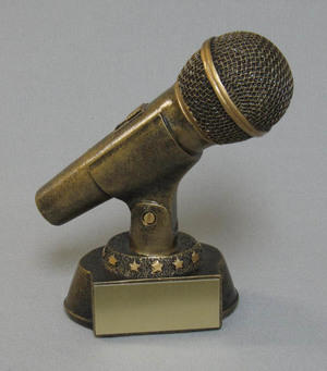 Gold Microphone Thumbnail