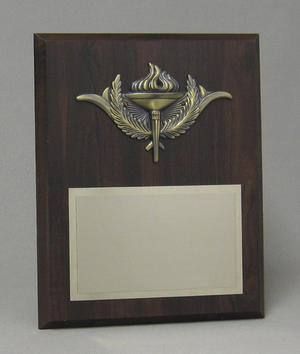Bronze Torch Plaque Thumbnail