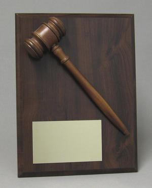 Gavel plaque Thumbnail