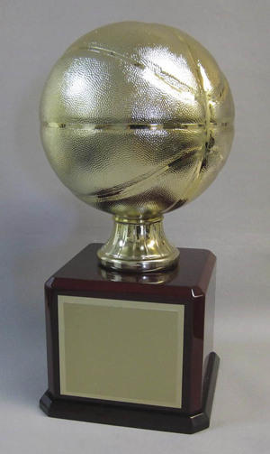 Gold Basketball Thumbnail