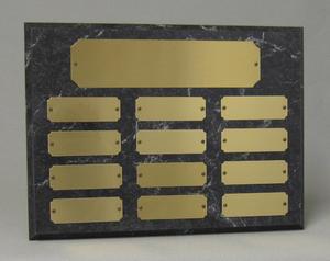 Horizontal perpetual plaque Thumbnail
