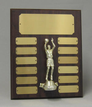 Perpetual plaque w/ figure Thumbnail