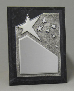 Rising Star Plaque - Silver Thumbnail