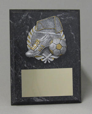Silver Wreath Plaque Thumbnail