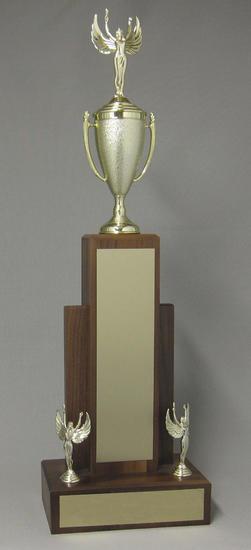 Walnut Tower Trophy Thumbnail